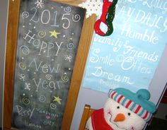 Chalkboard and Favorite Phrases