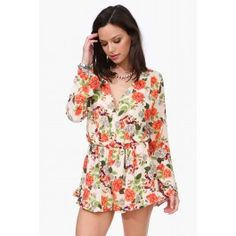 Honey Floral Romper