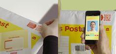 Un QR code sous forme de timbre permet d'associer une vidéo à un courrier physique - http://hellobiz.fr/un-qr-code-sous-forme-de-timbre-permet-dassocier-une-video-un-courrier-physique/