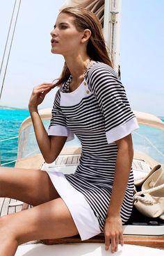 Striped sailor dress