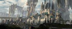 Fantasy Sci fi city