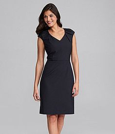 Great reviews on this dress..............  Alex Marie Cecilia CapSleeve Dress #Dillards