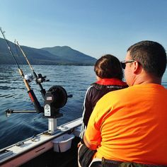 There are countless ways to spend your day on Lake George, today's King George Fishing Derby is one. The time can be that much sweeter when shared with family, in this case a parent and child. Here's to unforgettable summers. #vacationeer #fishing #laketrout