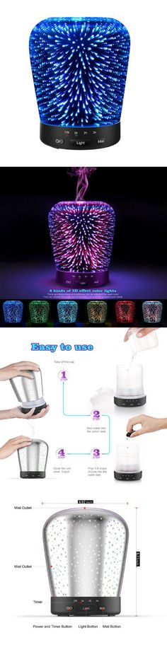 Essential Oils and Diffusers 20553: Aromatherapy-Oil-Diffuser-180Ml-Essential Oil Ultrasonic Cool Mist-3D Aromather -> BUY IT NOW ONLY: $41.99 on eBay!