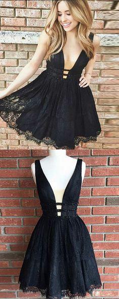 Cocktail #Kleid #schwarz My-Kleidung Onlineshop | Kurze schwarze ...