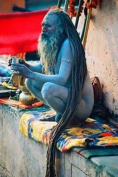 Aghori Sadhus, Shaivite Hindu, India