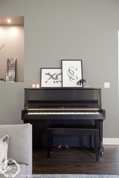 Modernizing a classic Piano, Gallery Wall, Music Instruments, Classic, Modern, Trendy Tree, Musical Instruments, Pianos, Classic Books