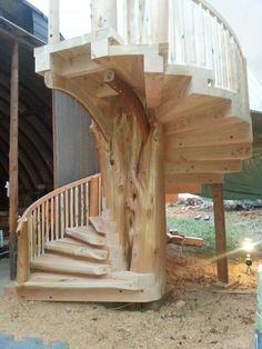Best Tree Trunk Spiral Staircase G*D S Talented People 400 x 300