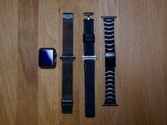 Last week I received three different Apple Watch Bands, in rubber, mesh and stainless steel from the guys at Wristouch in San Francisco, lets take a look.