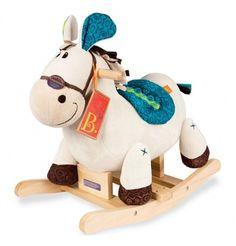Pluszowy Koń na biegunach B.Toys - Rodeo Rocker Banjo