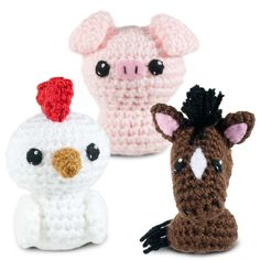 Born in a Barn 1 Crochet Amigurumi Pattern