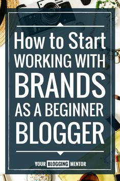 Great post teaching new bloggers how to connect with larger brands to build their own audience!