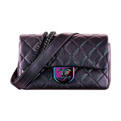 Small flap bag ❤ liked on Polyvore featuring bags, handbags, chanel, blue purse, chain handbags, chain bag, blue bag and blue handbags