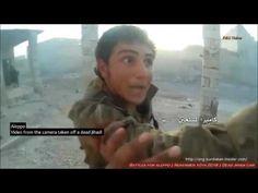 Guerra na Síria - Vídeo de um cinegrafista jihadista morto +18