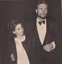 John Phillip Law Barbara Parkins Clipping Original Magazine 1pg 8x8 ...