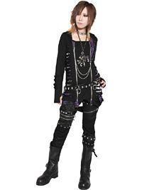 SEXPOT ReVeNGe/ Custom 3WAY SLASH Cutsew. See more at: http://www.cdjapan.co.jp/apparel/sexpot.html #punk #jrock