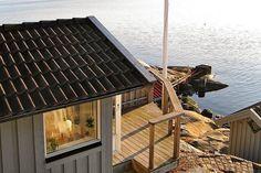 Haus am See - absolutes Traumhaus in Göteborg, Schweden! Hier kann man sogar Ferien machen!