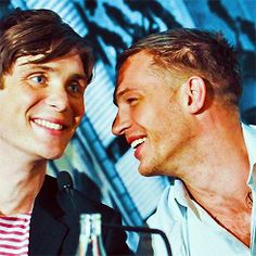 Tom Hardy and Cillian Murphy swoon
