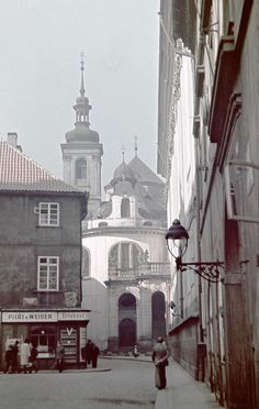 cca 1942 Praha St.Kliment Church