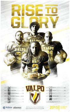 Valpo 2015 Football Poster