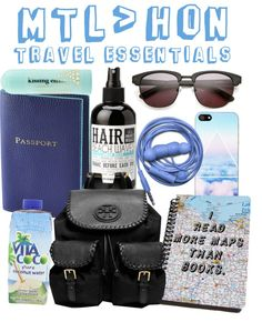 TRAVEL ESSENTIALS Healthy Style, Beach Waves, Travel Essentials, Backpacks, Pure Products, Polyvore, Bags, Handbags, Women's Backpack