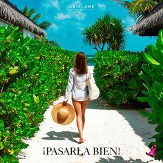 Viaja con #Oriflame #fashion #beach #look #mundo