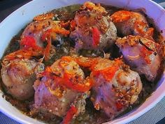 Chicken in Provencal.