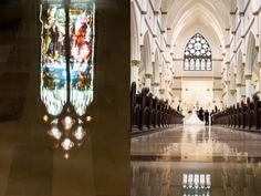 you are the wind beneath my veil - Vue Photography ceremony venue/ Cathedral of Saint John the Baptist