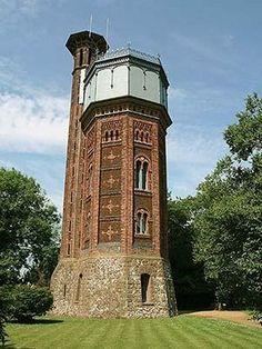 Sandringham, Norfolk water tower