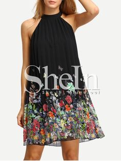 Shop Black Print Cut Away Shift Dress online. SheIn offers Black Print Cut Away Shift Dress & more to fit your fashionable needs.