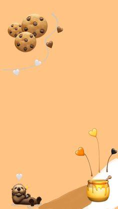 Tea Wallpaper, Emoji Wallpaper Iphone, Cute Emoji Wallpaper, Best Iphone Wallpapers, Cute Wallpaper Backgrounds, Aesthetic Iphone Wallpaper, Cartoon Wallpaper, Disney Wallpaper, Cute Wallpapers