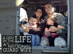 We are a National Guard family. I am a National Guard wife. This life is a little crazy, but I love it.