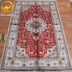 Hand knotted silk rug # Rug No.: P4186 # Quality: 150L (156kpsi) # Size: 3x5ft (91x152cm) # Material: 100% Silk # wholesale Price: $240/piece # If you have any interests, please email to sales@bosicarpets.com    Hand-madecarpet#orienatlrug#oldrug#Kashmirrug#Chinacarpet#Iraniancarpet#boteh#HeratiGul# Isfahan#Tabriz#Qum#Nain#Kashan#Kerman#Bijar#Sarouk#Caucasian#antiquecarpet#bosicarpet