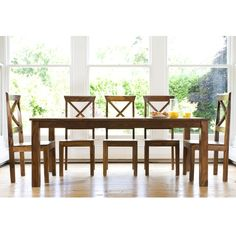 Mallani Large Table with 8 Chairs | Myakka