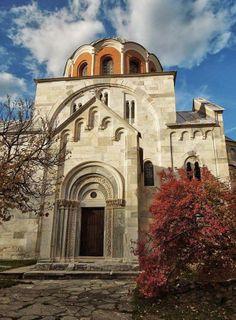 The monastery of Studenica, Serbia