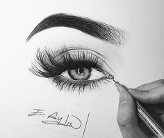 Learn To Draw Eyes - Drawing On Demand Sketch Eyes Klicke um das Bild zu sehen. Amazing Drawings, Love Drawings, Beautiful Drawings, Amazing Art, Pencil Art Drawings, Drawing Sketches, Realistic Eye Drawing, Arte Sketchbook, Desenho Tattoo