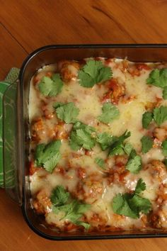 Mexican Chicken Meatballs - A Mexican spin on the traditional Little Italy variety meatball. A great dish to bring to a potluck party.