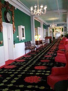 Spent my honeymoon here in 1960.  Tiny horrible room.  Grand Hotel hallway on Mackinac Island