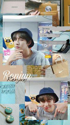 Because I Love You, My Love, Catch Feelings, Nct Dream Jaemin, Huang Renjun, Dream Wall, Kpop Aesthetic, Winwin, Wallpaper Stickers