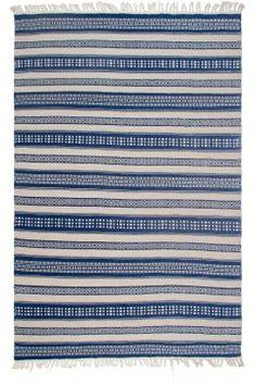 Chatsworth - Blue -  Indoor Outdoor PET (Polyester Fiber) Rug