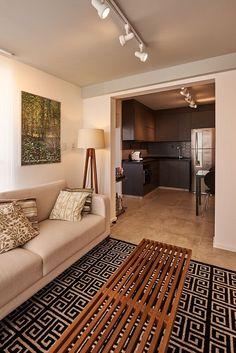 spots de led sala-de-estar-goup arquitetura-158589 Cocina Office, Tv Decor, Home Decor, Small Apartment Decorating, Salon Design, Light Art, Small Apartments, Ark, My House