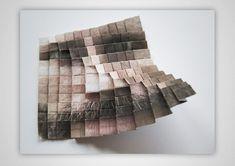 aldo tolino folds portraits into facial landscapes