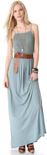 Apron Beach Maxi Dress - Lyst