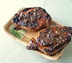 Seasonal Ontario Food: 5-Spice Pork Chops, asian-inspired, very tasty and quick to cook.