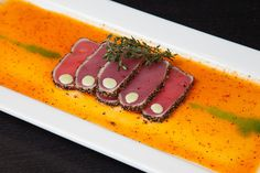 Seared Tuna Tataki   Oahu