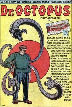 Dr. Octopus! El mejor villano de Spidey.