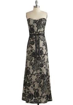 Operatic Occasion Dress, #ModCloth @Megan Rollins do you have need for this dress, I think it would be fabulous on you.