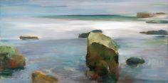 Ocean Rocks - Whitney Gallery ~ Contemporary Fine Art in Laguna Beach, California