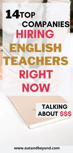 Learn all the ways you can make money as an english teacher! We have all started with no experience, you can do it too! #teachingenglish #makemoneyfromhome Online Teaching Jobs, Teaching English Online, Online Jobs, Teaching Resources, Extra Money Jobs, Companies Hiring, Job Website, Online Classroom, Hobbies That Make Money