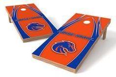 Boise State Broncos Single Cornhole Board - The Edge
